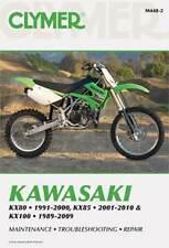 Clymer Manual Kawasaki KX80, KX85 & KX100 1989-2010 M4482 NEW