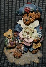 Boyds Bears 1997 Figurine #228306 Grace Jonathan Born to Shop Bearstone Retired