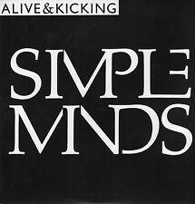 "Simple Minds - Alive & Kicking - 7 "" Single"