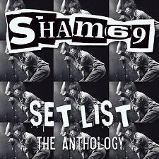 Sham 69(CD Album)Set List The Anthology-Secret-SECCD055-UK-New & Sealed/
