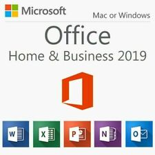Microsoft Office Home and Business 2019 for Windows/Mac, License Key + USB 1 Use