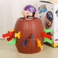 Kids Super Pop Up Toy Jumping Pirate Board Game Lucky Funny Tricky Toy Family RB