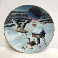 Rein Poortvliet Which Way The Wind Blows Secret of the Gnomes Collectible Plate