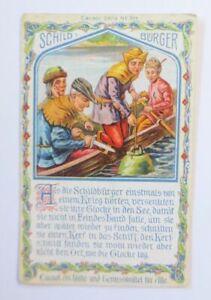 Kaufmannsbilder, Cacaol Wilh. Pramann, Radebeul-Dresden, Schildbürger ♥