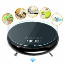 Safty Use Smart Robot Vacuum Cleaner Automatic Floor Sweeping w/4 Cleaning Modes