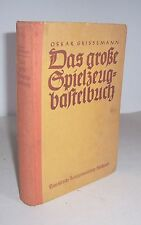 Oskar Cinema - The Great Toy-Craft Book 1936!