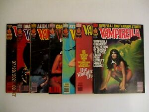LOT OF (7) VAMPIRELLA WARREN MAGAZINES (#73-97) 1978