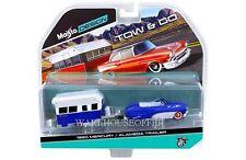 MAISTO 1:64 TOW & GO 1950 MERCURY AND ALAMEDA TRAILER DIECAST CAR 15368-G