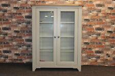 Willis & Gambier, Debehams Worcester Range, Small Glazed Display Grey Unit, BNIB