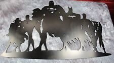 Justice League Metal Wall Art