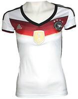 adidas Damen Trikot AC1131 DFB J JSY W 4S Deutschland Germany weiß 2XS NEU @GN14
