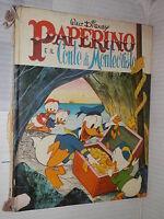 PAPERINO E IL CONTE DI MONTECRISTO Walt Disney Mondadori Prima edizione 1973 di
