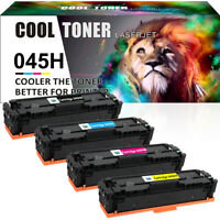 4 PACK Toner Compatible for Canon 045H ImageClass MF634Cdw LBP612Cdw MF632Cdw