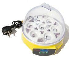 Incubateur automatique numérique 7 oeufs - couveuse œufs Electronique