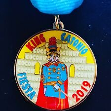 2019 Coconut the Cat Fiesta Medal