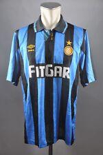 Inter Mailand Trikot Gr. L Jersey 1991-92 Milan maglia Internazionale Umbro 90s
