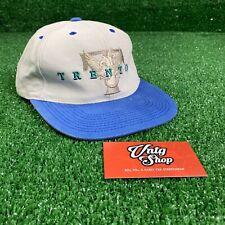 Vintage 90s Trenton Thunder Minor League Baseball Strap Back Hat