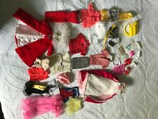 Vintage Barbie and other doll clothes lot.  Mattel, Skipper, accessories