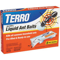 Ant Killer Bait 6 Liquid Gel Stations Kill Indoor Ants Terro Control 1 Package