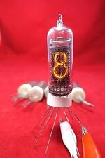 6 PCS/LOT NIXIE NEON IN-14 IN14 CLOCK DIGIT TUBES NOS