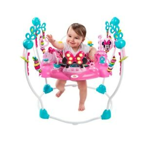 Baby Minnie Mouse Jumper Jumperoo Peekaboo Activity Centre