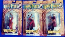 Rare 2001 Mattel 3 pc Quidditch Set, Harry Potter, Fred & George Weasley Nip