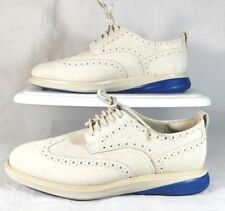 Cole Haan Grand Evolution Wingtip Oxfords Mens 9.5 M Suede $280 C169