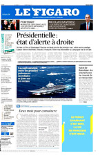 Le Figaro 27.2.2017 N°22566*Marine LE PEN*MACRON*TRUMP*SORTIE de EURO*C.PISSARO