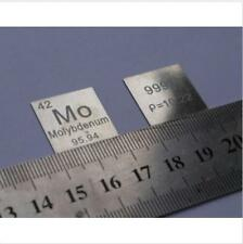 Molybdenum Metal ingot Sheet Element Periodic Table board Mo≥99.95% collection s