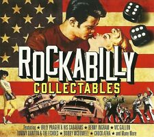ROCKABILLY COLLECTABLES 3CD INCLUDING BENNY INGRAM, VIC GALLON & MANY MORE