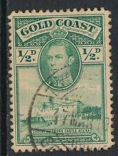 GOLD COAST, 1938 ½d perf line 12 very fine used