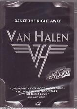 3 DVDs - VAN HALEN LIVE IN CONCERT EVERYBODY WANTS SOME DAVID LEE ROTH DOC - NEW