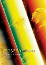 Rahsaan Patterson: Live at the Belasco, New DVDs