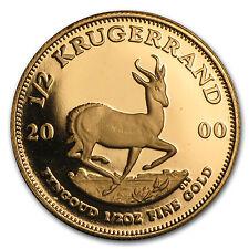2000 South Africa 1/2 oz Proof Gold Krugerrand - SKU #49655