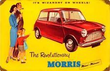 Morris Mini-Minor Vintage Metal Sign