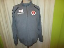FC St.Pauli Original hummel U17 Spieler Freizeit- Training Zipper/Jacke Gr.M TOP