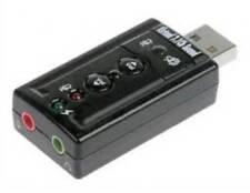 21.st -  LINK . ADATTATORE USB-AUDIO PER MICROFONO, CASSE O CUFFIE