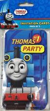 Thomas The Tank Birthday Party Invitations Pack of 8 Kids Children Invites