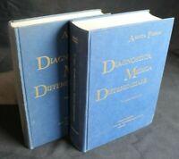 DIAGNOSTICA MEDICA DIFFERENZIALE. Vol.1-2. Aminta Fieschi. Wassermann.