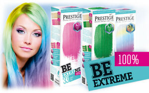 Prestige  Semi-Permanent Hair Colourants Be Extreme 3 in 1 Natural Colors