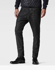 G-STAR 3301 Slim Colored Jeans Mens Black Size UK W32 L32 *REF140-F