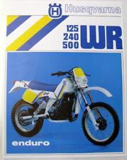 buy husqvarna motorcycle manuals and literature ebay rh ebay co uk 2018 Husqvarna 250 1973 Husqvarna 250 WR