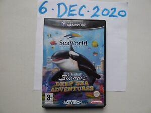Seaworld Adventure Parks: Shamu's Deep Sea Adventures Complete Nintendo Gamecube