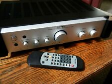 ROTEL RA 1062 Integrated Amp Silver Excellent with Remote, Instructions and  Box