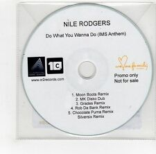 (GI329) Nile Rodgers, Do What You Wanna Do - 2014 DJ CD