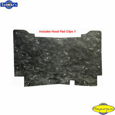 71-76 Caprice Impala Under Hood Liner Insulation Pad w/ Retaining CLIPS - CP216