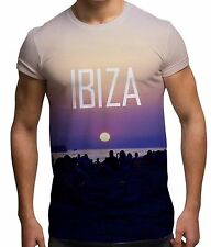 Ibiza Party Night All Over Print Fashion Holiday Sun Summer Beach Mens T Shirt