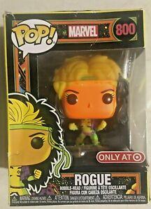 Funko Pop Marvel X-Men - Rogue Blacklight #800 - Damaged Box
