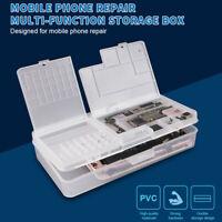 New Mobile phone LCD Screen Mainboard IC Parts Repair Multi-function Storage Box