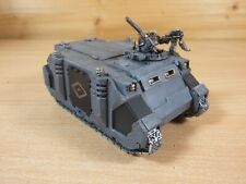PLASTIC WARHAMMER SPACE WOLVES RHINO PAINTED (L)